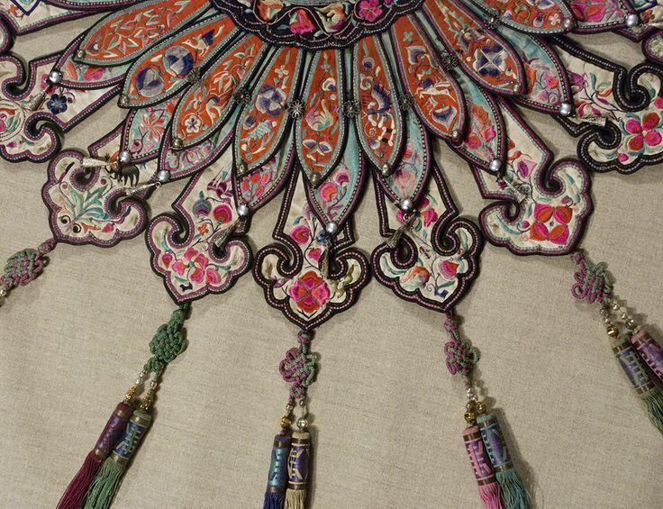E-6678 Wedding Collar. Yunnan, ChinaMarla Mallett