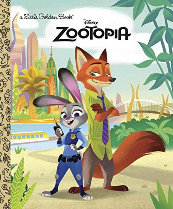 Zootopia Book Suggestions: Zootopia Little Golden Book