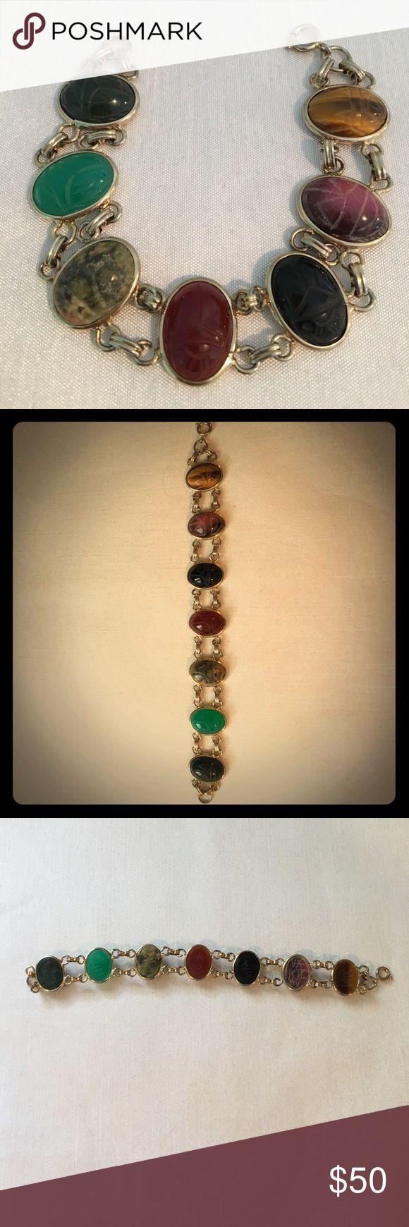 Vintage scarab bracelet Antique htf vintage piece Jewelry Bracelets