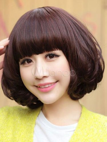 how to style straight hair with bangs 1000 ideas about bangs on thin hair 4896 | 0739cc8f833c2efab625a32f78614e5b
