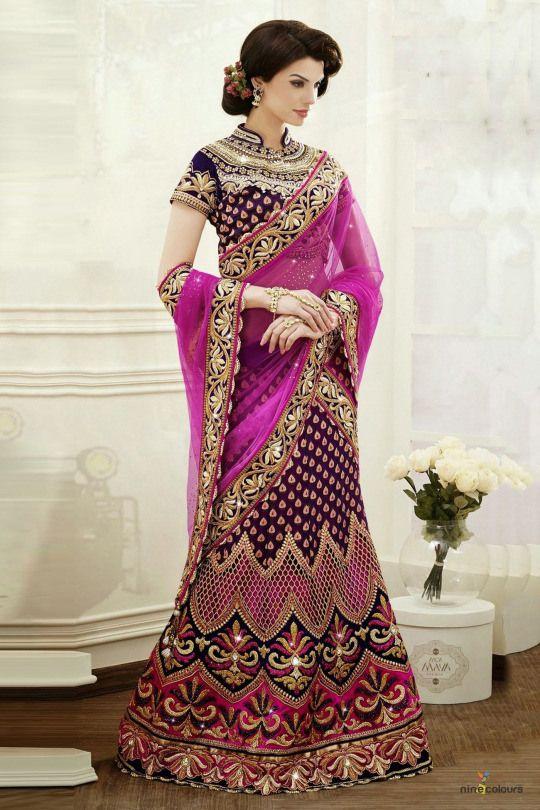Diwali Lehenga Choli Trend New Collection For Girls (4)