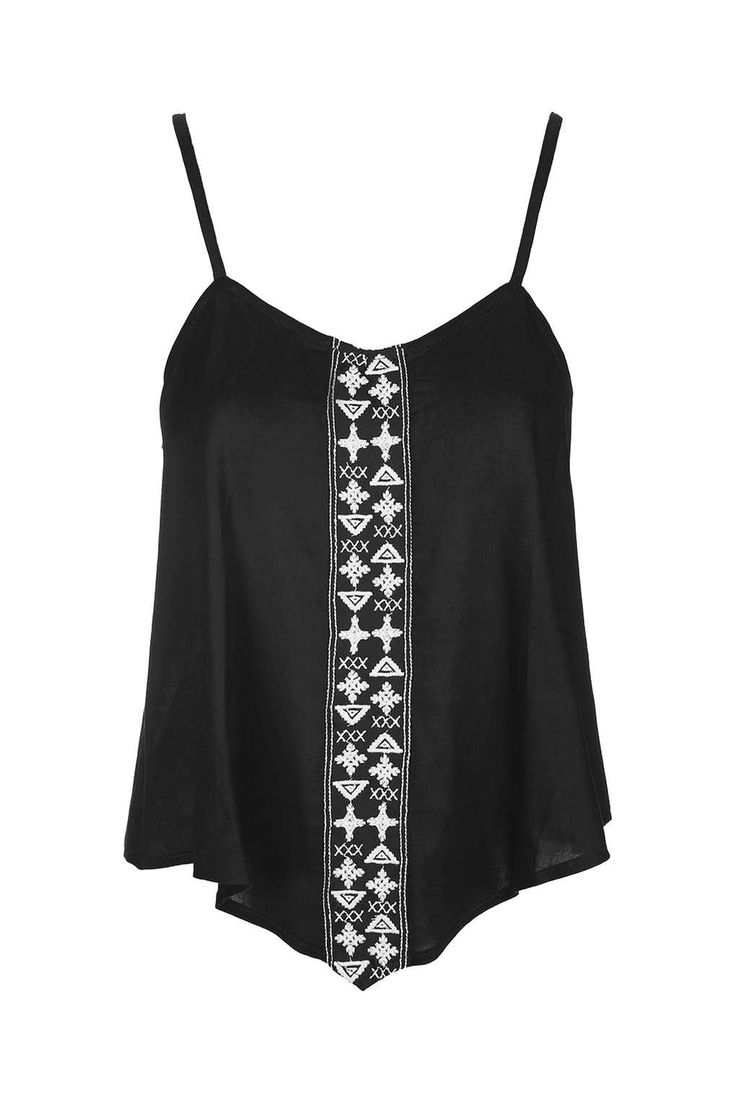 Aztec Trim Cami Top