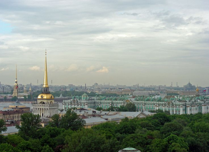 A view of the skyline in St Petersburg, Russia - Photo by Robert Craig, Group Escort