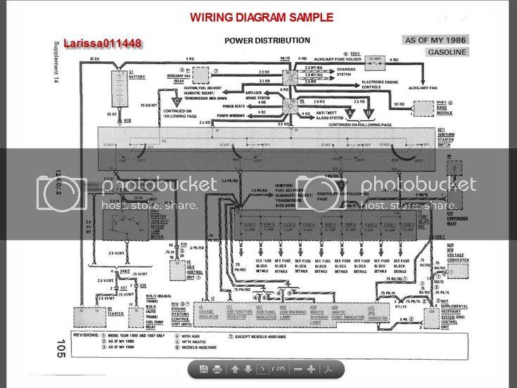 Mercedes W124 Wiring Diagram Free  6 In 2020