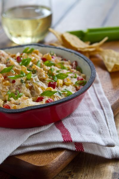 Roasted Corn Dip.  Sounds delish!: Football Food, Easy Roasted, Super Bowls, Roasted Corn, Appetizers Dips, Food Snacks Appetizers, Sweet Corn, Corn Dips, Parties Food