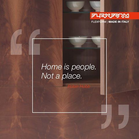 Our home. The place where we spend time with those who know us best. Here at FLEXFORM, a sofa is not just an object, but the place where we build the closest bonds with the ones we love.