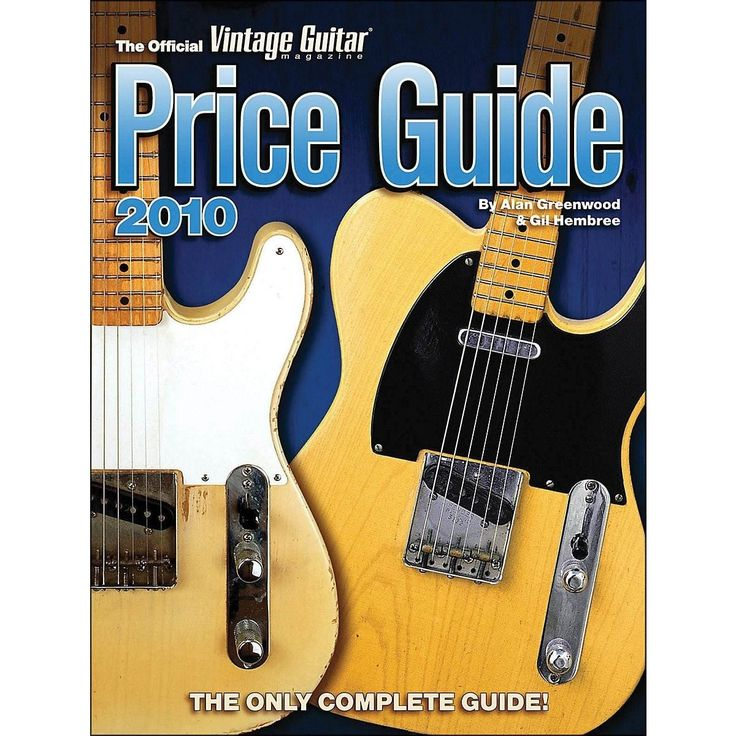 Official Vintage Guitar Price Guide 2010