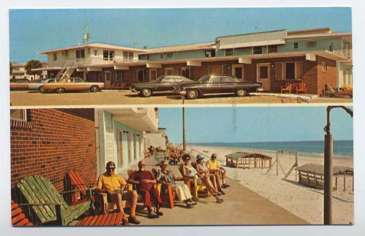 Vintage Panama City Beach | Details about PANAMA CITY BEACH FL old CARL STEPHENSON MOTEL 1962 ...