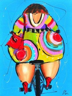 Schilderijen veiling - Liz - Altijd onderweg