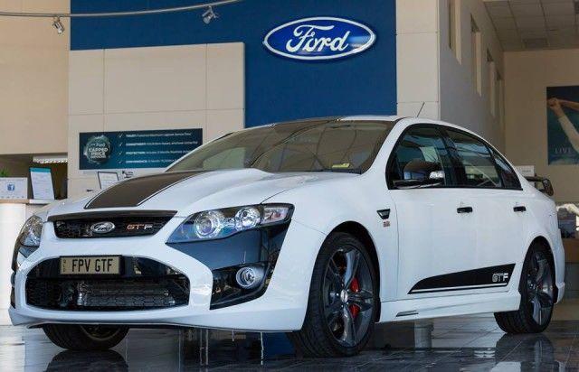 Ford Performance Vehicles GTF Australia