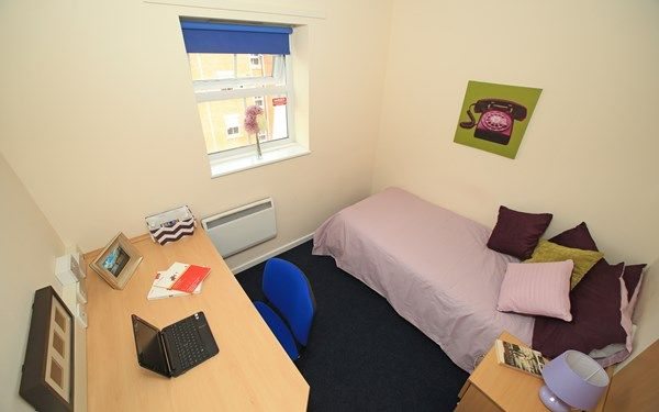 Standard en-suite room that is available to students for 2017