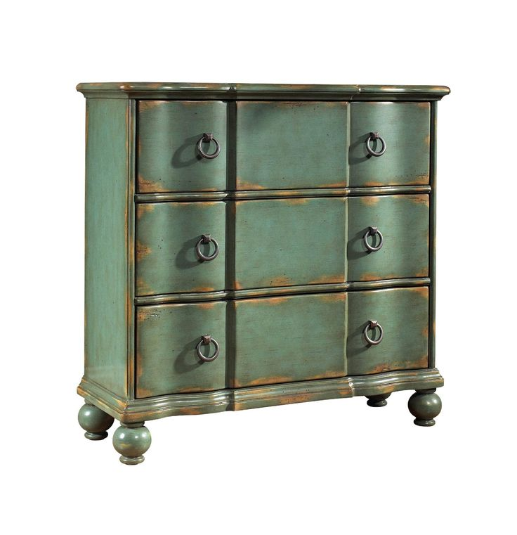 Best Amazon Com Pulaski Weathered Blue Hall Chest Chests Of 640 x 480