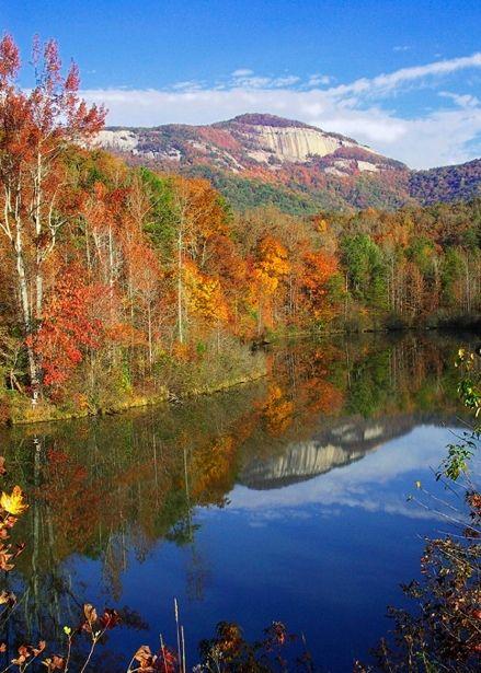 Table Rock, Blue Ridge Mountains, South Carolina