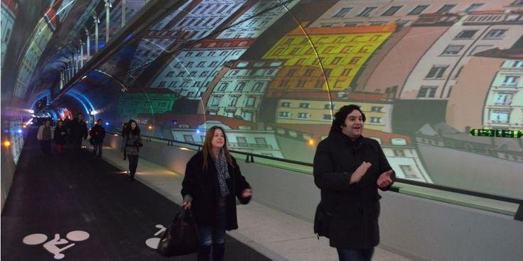 tunnel de la croix-rousse | Tunnel de la Croix-Rousse : les piétons et les cyclistes ont leur ...