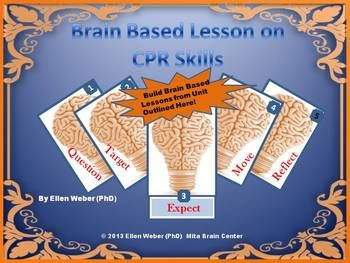 You'll find brain based lesson outlines here, to explore Lifesaving CPR Skills In addition, this product offers extra blank forms to create ...