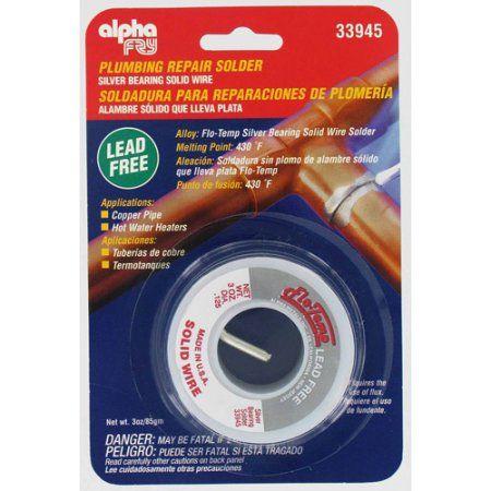 Fry Technologies Cookson Elect AM33945 Flow-Temp Lead-Free Plumbing Solder, Multicolor