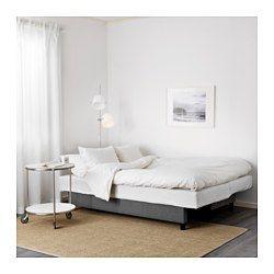 ASARUM Bäddsoffa - Bäddas enkelt ut till en säng. Förvaringsutrymmet under sitsen har plats för exempelvis sängkläder.