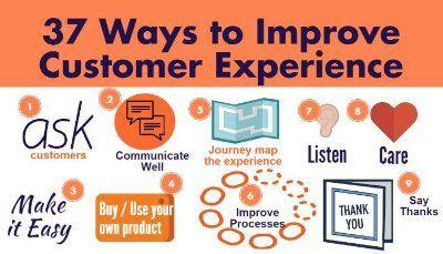 37 ways to improve customer experience | Shane Goldberg | LinkedIn