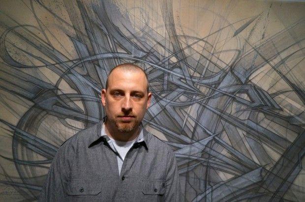 La légende du graffiti de la côte ouest, Saber, expose ses peintures à l'Opera Gallery à New York.  Une étape de plus dans la carrière de cet artiste qui présente son travail basé sur l'abstraction, les matières et la superposition.  On peut retrouver des oeuvres avec son emblématique drapeau américain.  Pour vous faire une idée de son travail, regardez les photos ci-dessous.