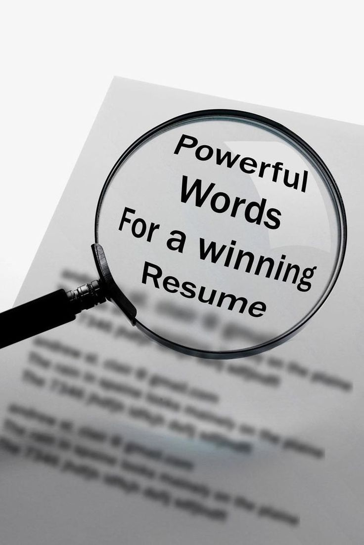 emergency nurse resume%0A Action Verbs and Power Words for Your Resume