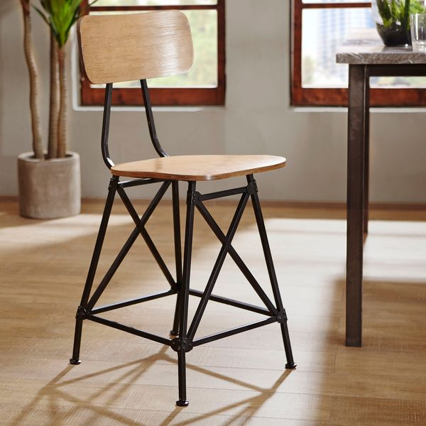 Ink Ivy Cooper Counter Stool By Ink And Ivy Metals