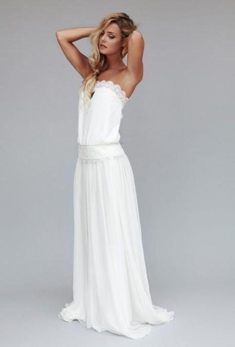 Robe de mariРіВ©e princesse rouge et blanc