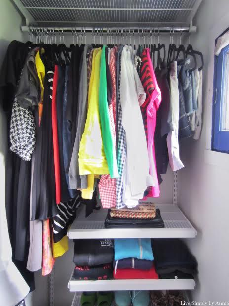 This tiny closet space gets a complete transformation for Maximize small closet