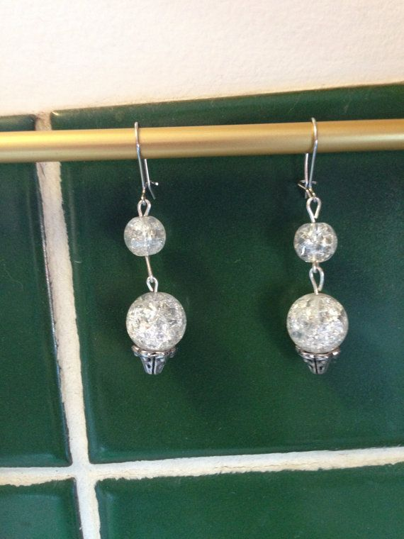 Pretty set of drop earrings