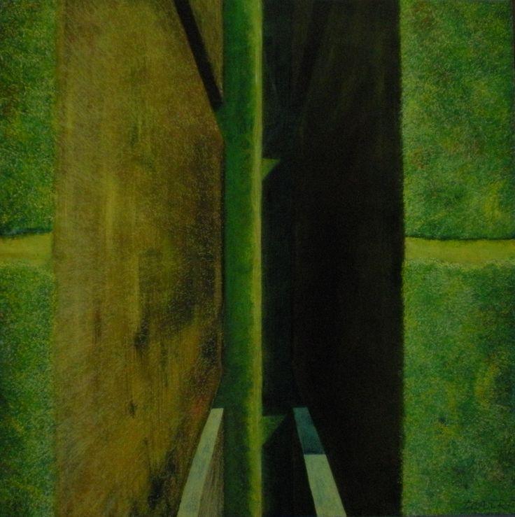 369- Acrylic on canvas, 80 x 80 Cm.