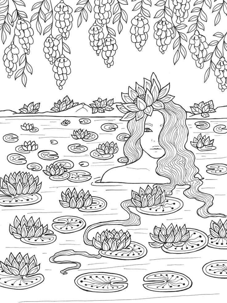 25 best ideas about coloriage fille on pinterest dessin - Coloriage fille ...