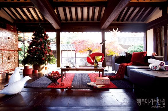 행복이 가득한 집_ Happy Christmas in Korea [Christmas Idea 1] 한옥에서 맞는 크리스마스 풍경