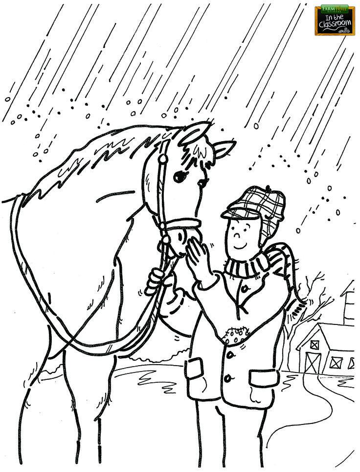 FarmFamilyWeek5 FREE PRINTABLE Coloring Page. Teaching ...