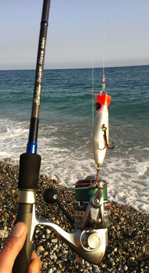 Fishing in french riviera