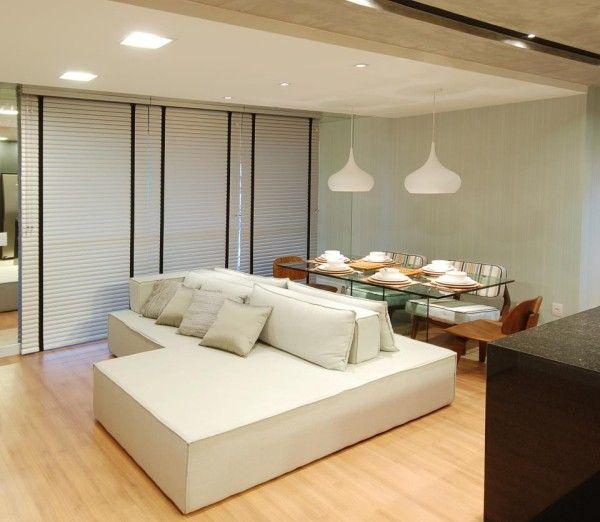 Sala Pequena Com Pendentes. Small RoomsInterior DesignSweetHouseSmall ...