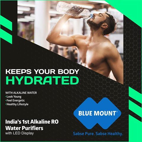 Keeps your body hydrated so you look young, feel more energetic and enjoy a healthy lifestyle for years. Maintains the level of alkaline minerals your body needs. ‪#‎Alkaline‬ ‪#‎Water‬ ‪#‎Feel‬ ‪#‎Energetic‬ ‪#‎Healthy‬ ‪#‎Lifestyle‬ For demo, please call: 9560890061 Visit www.bluemountro.com Request for free demo Click here http://goo.gl/4jtWtd