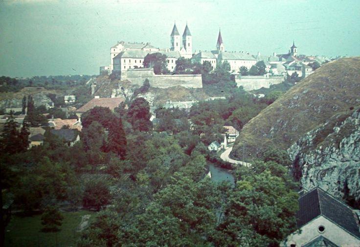 Veszprém, the view of the city in the 1930s
