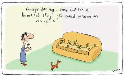 Couch potatoes - Michael Leunig