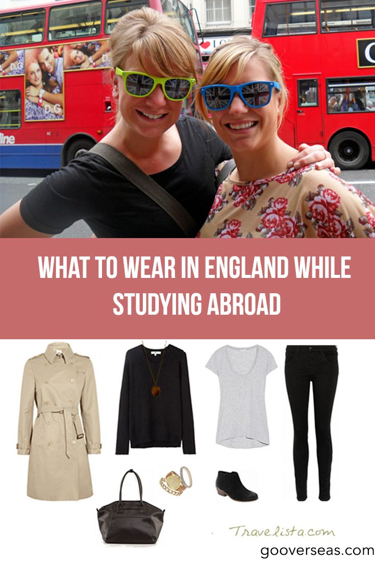 Ideas for the perfect study abroad waredrobe while in England!