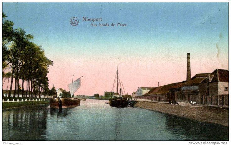 1922  Nieuwpoort, Nieuport, Aux bords de l'yser