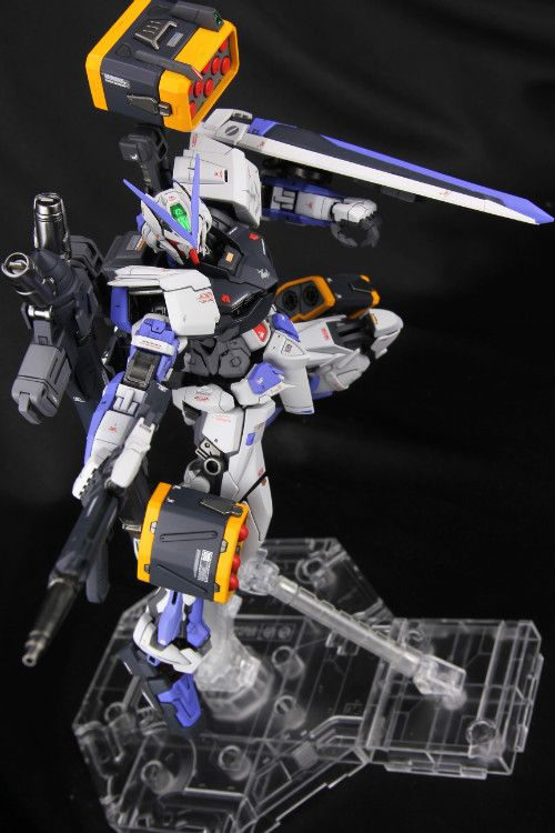 Custom Build: MG 1/100 Gundam Astray Blue Frame Full Weapon Form - Gundam Kits…