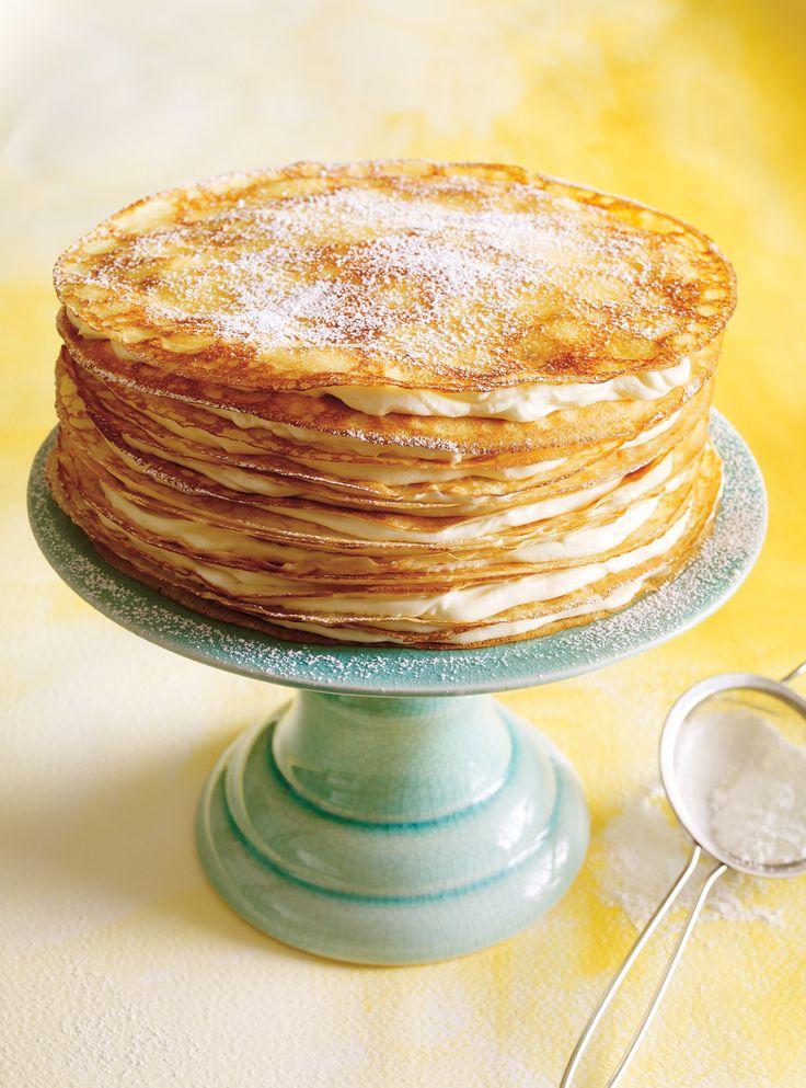 Ricardo's recipe: Mille Crepe Cake