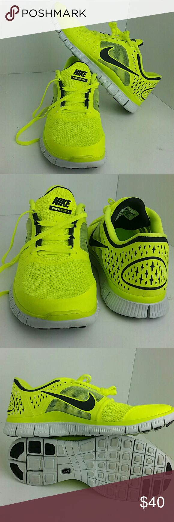 NIKE FREE RUN 3 III MEN'S SHOES VERY CLEAN INSIDE-OUT   SKE # JVP NIKE  Shoes Athletic Shoes