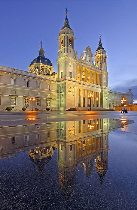 La Almudena Cathedral, Madrid, Spain. Visited Madrid for a few days in September, wish I'd stayed longer