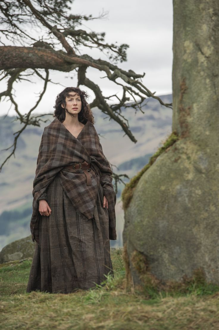 Caitriona Balfe as Claire Fraser  in Season One of Outlander on Starz
