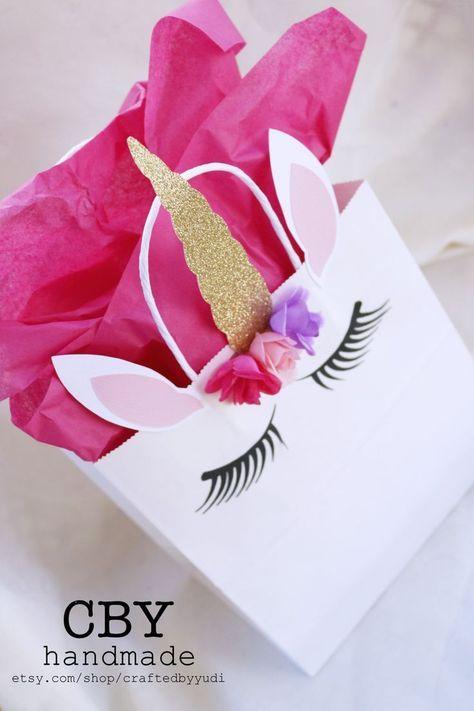 Bolsita souvenirs para cumpleaños de unicornio - http://xn--manualidadesparacumpleaos-voc.com/bolsita-souvenirs-para-cumpleanos-de-unicornio/