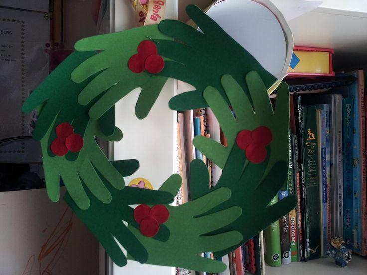 Hands Wreath