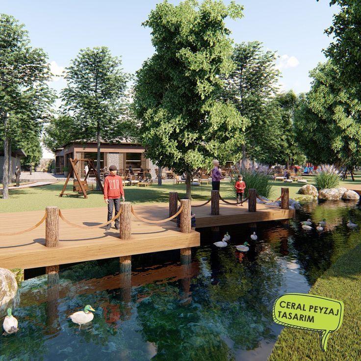 M E S I R E A L A N I Nehir Kenari Iskeleler 3d 3dmodelleme Ceralpeyzaj Design Gardendecor Gardendesign Havuz Kentp 3d Modelleme Peyzaj Garten