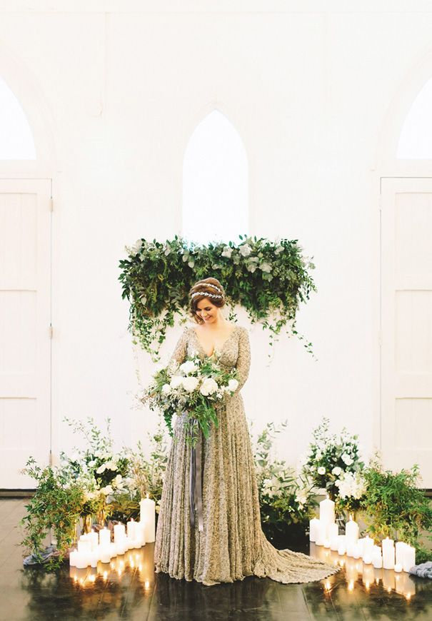 Little White Chapel Wedding Styling - Willow Tree Creative. Featured on Hello May. Venue High Church Brisbane.