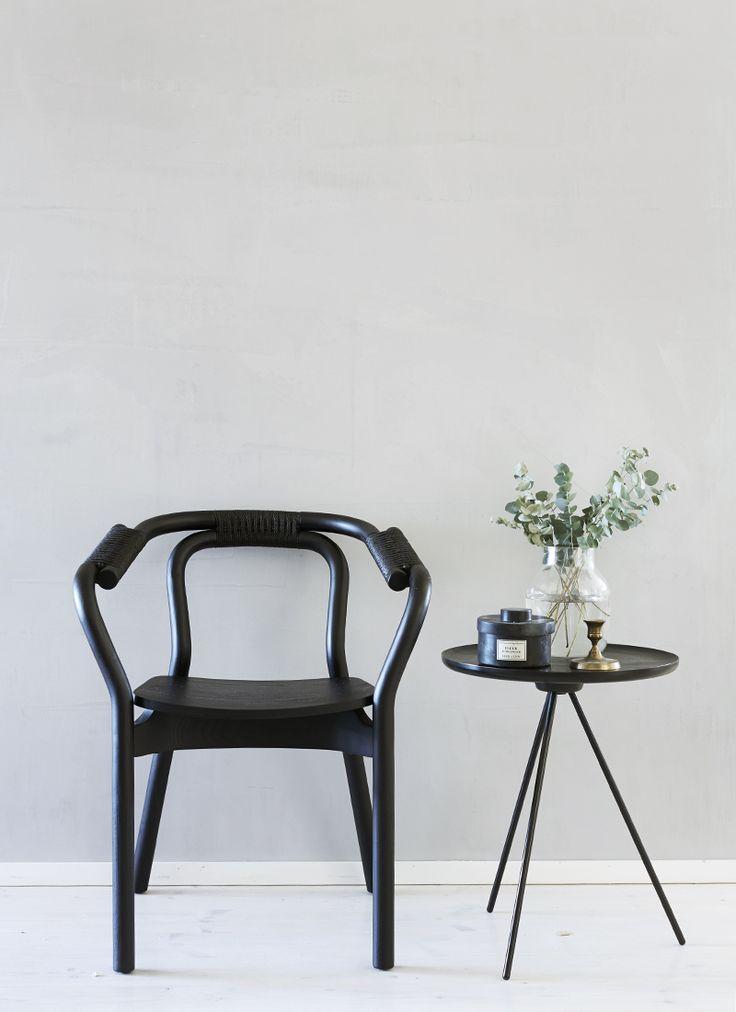 Black chair norman Copenaghen http://decdesignecasa.blogspot.it