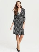 What to wear to conferences-- did you all see the Gemma wrap dress is on sale at Banana Republic ($49.99-$79.99 depending on the color/pattern) AND there's a Banana Republic coupon through 3/23: BRSPRING30 for 30% off sale items